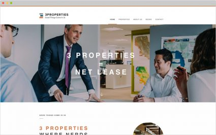 3-Properties Website