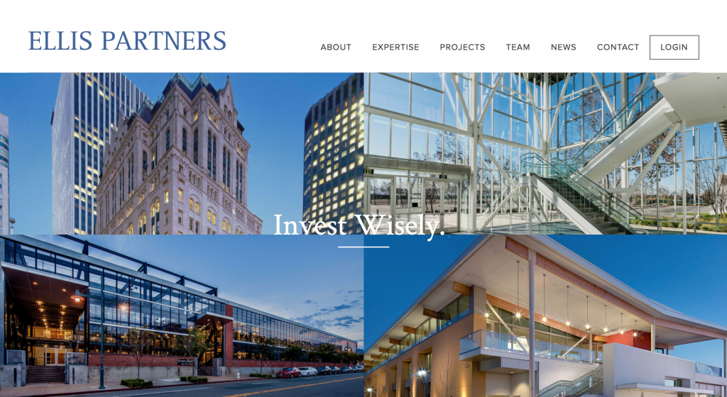 Ellis Partners Website