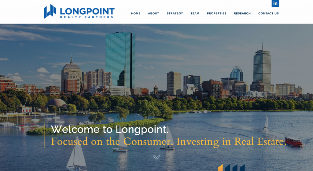 Longpoint Realty Partners Website