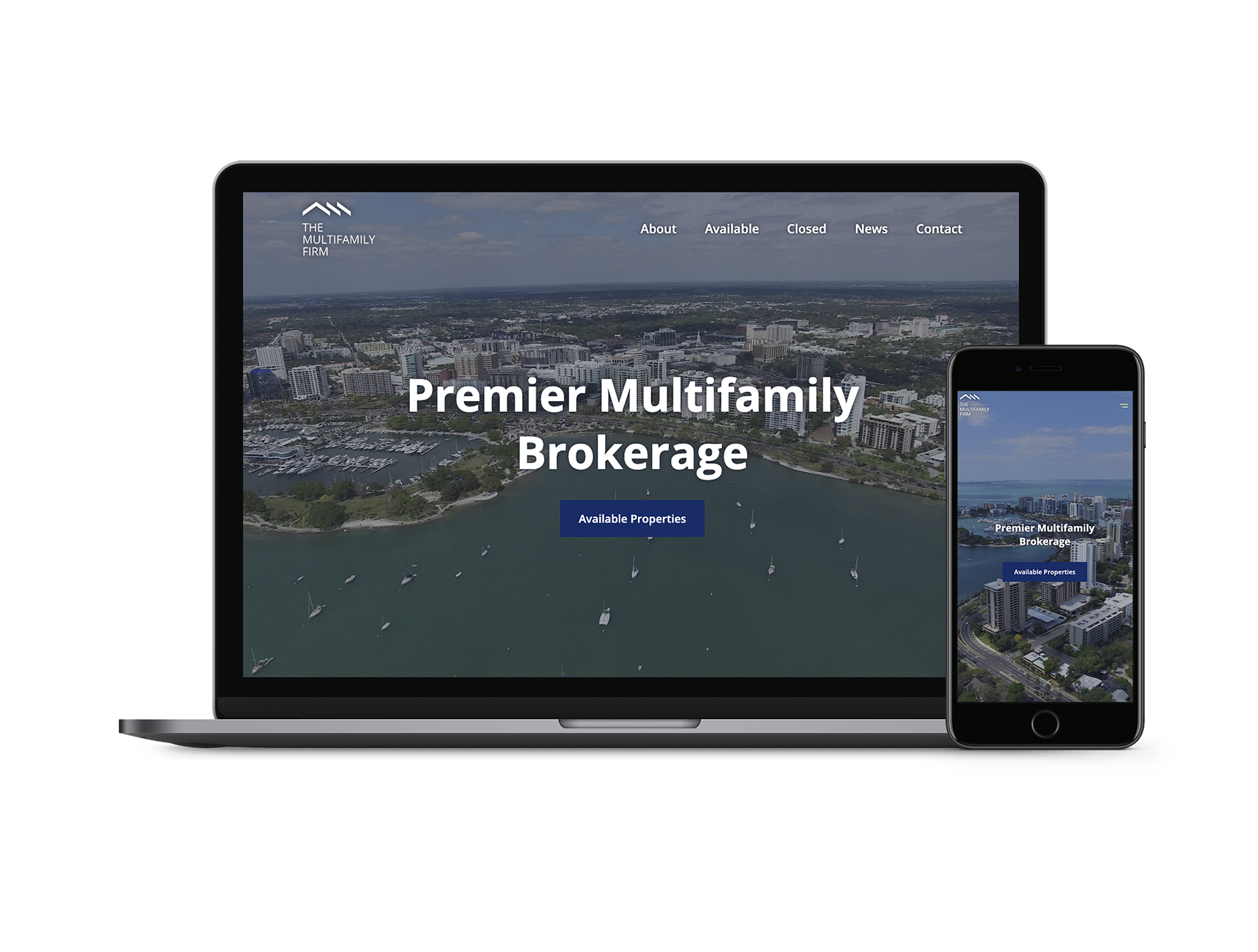 Multifamily Firm Florida Real Estate Website